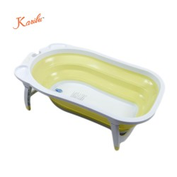 Karibu Folding Bath Tub(Yellow)