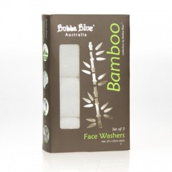 Bubba Blue Bamboo Face Washer