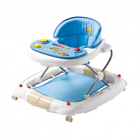 Farlin 2-in-1 Walker/Rocker (Blue)