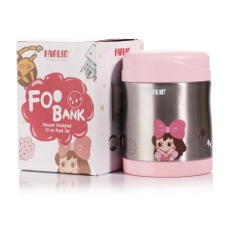 Farlin Stainless Steel Food Jar (Pink)