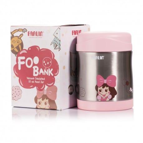 Farlin Stainless Steel Food Jar (Pink)