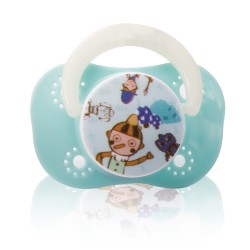 Farlin Chu Chu Cherry Pacifier (Blue)