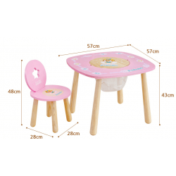 Pororo Play Table (Blue or Pink)