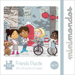 Minimondos Bambino 12pc Friends Puzzle