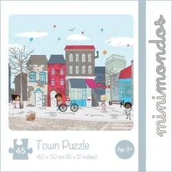 Minimondos Bambino 45pc Town Puzzle