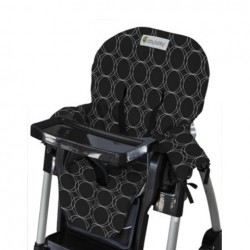 Bambino Grubby Bubby Highchair Cover Black & White