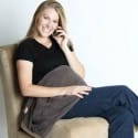 Bambino Belly Armor Belly Blanket Luxe  Champagne