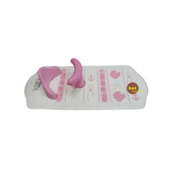 SMT Baby Bambino Bath Mat With Seat (Suction) Pink