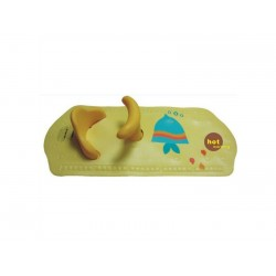 SMT Baby Bambino Bath Mat With Seat (Suction) Yellow
