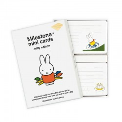Milestone Miffy Mini Cards