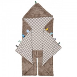 Snoozebaby Trendy Wrapping Wrap Blanket-Desert Taupe