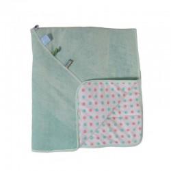 Snoozebaby Crib Blanket - Organic Mint