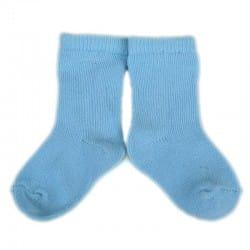 PLUSH Stay on socks (0-2yrs) - Baby Blue
